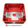 Siemens ZB-R Weatherproof Back Box-red P/n:500-636193
